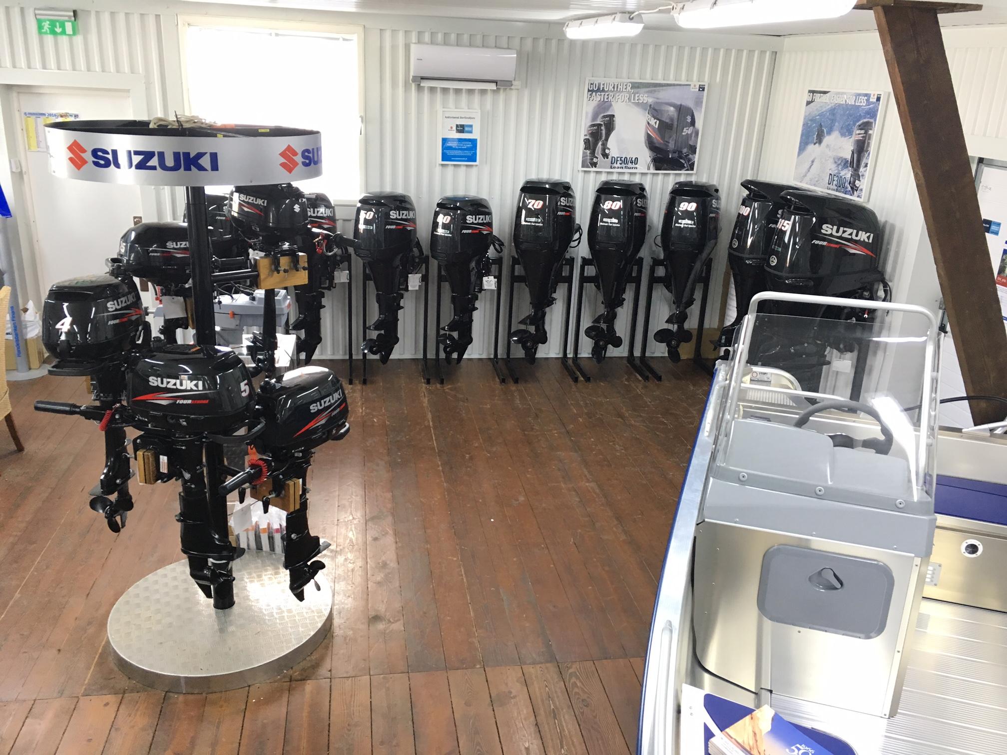 Auktoriserade återförsäljare av Suzuki Marin